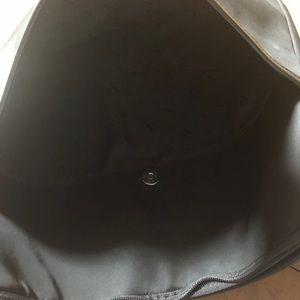 Levenger Bags - Levenger Leather & Nylon Soft Laptop Case Folio